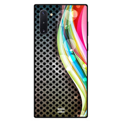 Moreau Laurent Samsung Note 10 Mobile Phone Back Cover, Rainbow Color on Right Pattern