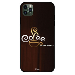 Zoot Apple iPhone 11 Pro Max Mobile Phone Back Cover, Coffee