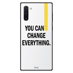 Zoot Samsung Note 10 Mobile Phone Back Cover, You Can Change Everything