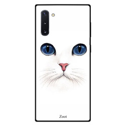 Zoot Samsung Note 10 Mobile Phone Back Cover, Cat Mask