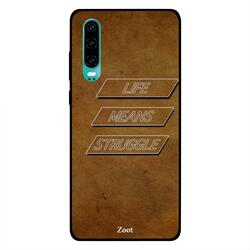 Moreau Laurent Huawei P30 Mobile Phone Back Cover, Take Your Dreams Seriously