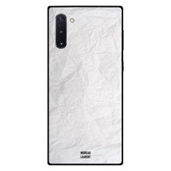 Moreau Laurent Samsung Note 10 Mobile Phone Back Cover, Paper Pattern