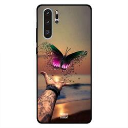 Moreau Laurent Huawei P30 Pro Mobile Phone Back Cover, Flying Butterfly