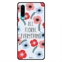 Moreau Laurent Huawei P30 Mobile Phone Back Cover, Actually I Can