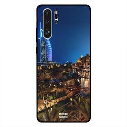 Moreau Laurent Huawei P30 Pro Mobile Phone Back Cover, Burj Al Arab View At Night