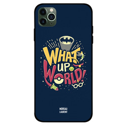 Moreau Laurent Apple iPhone 11 Pro Mobile Phone Back Cover, What Up world