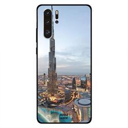Moreau Laurent Huawei P30 Pro Mobile Phone Back Cover, Beautiful View of DownTown Dubai