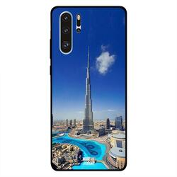 Moreau Laurent Huawei P30 Pro Mobile Phone Back Cover, Burj Khalifa in Clean Weather