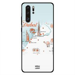 Moreau Laurent Huawei P30 Pro Mobile Phone Back Cover, Explore Dubai