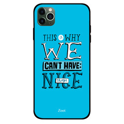 Zoot Apple iPhone 11 Pro Mobile Phone Back Cover, This Is Why We Can't Have Nice Things