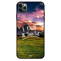 Zoot Apple iPhone 11 Pro Max Mobile Phone Back Cover, I Chill At Sunset