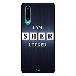 Moreau Laurent Huawei P30 Mobile Phone Back Cover, Lets Talk Type