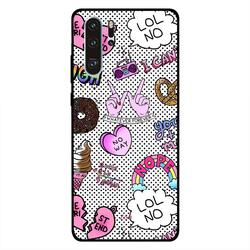Zoot Huawei P30 Pro Mobile Phone Back Cover, Girly Tags