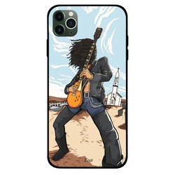 Zoot Apple iPhone 11 Pro Mobile Phone Back Cover, Metal Music
