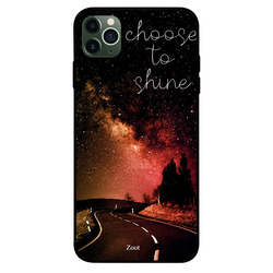 Zoot Apple iPhone 11 Pro Max Mobile Phone Back Cover, Choose To Shine