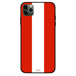 Zoot Apple iPhone 11 Pro Max Mobile Phone Back Cover, Austria Flag