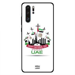 Moreau Laurent Huawei P30 Pro Mobile Phone Back Cover, Happy National Day UAE