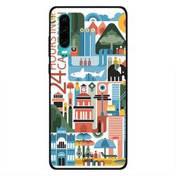 Moreau Laurent Huawei P30 Mobile Phone Back Cover, 24 Hours in Cape Town
