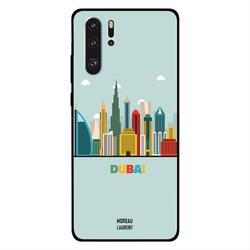 Moreau Laurent Huawei P30 Pro Mobile Phone Back Cover, Dubai Buildings