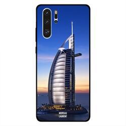 Moreau Laurent Huawei P30 Pro Mobile Phone Back Cover, Burj Al Arab View At Evening