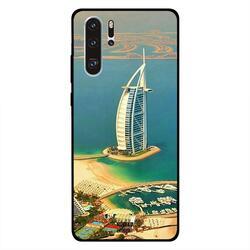 Moreau Laurent Huawei P30 Pro Mobile Phone Back Cover, Burj Al Arab Sky View