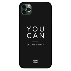 Moreau Laurent Apple iPhone 11 Pro Mobile Phone Back Cover, You Can End of Story