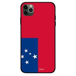 Zoot Apple iPhone 11 Pro Max Mobile Phone Back Cover, Samoa Flag