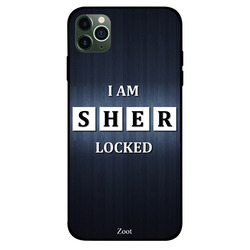 Zoot Apple iPhone 11 Pro Max Mobile Phone Back Cover, I Am Sherlocked