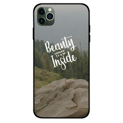 Zoot Apple iPhone 11 Pro Max Mobile Phone Back Cover, Beauty Comes From Inside