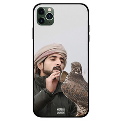 Moreau Laurent Apple iPhone 11 Pro Max Mobile Phone Back Cover, Sheikh Hamdan Loving His Eagle