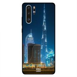 Moreau Laurent Huawei P30 Pro Mobile Phone Back Cover, Burj Khalifa Lighten