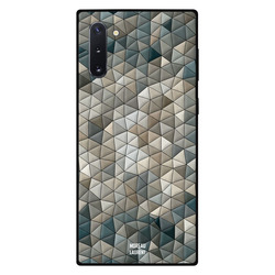 Moreau Laurent Samsung Note 10 Mobile Phone Back Cover, Moving Shapes Pattern