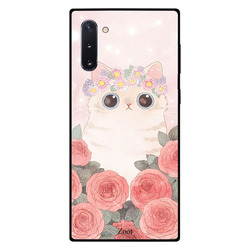 Zoot Samsung Note 10 Mobile Phone Back Cover, Cat Roses