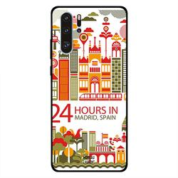 Moreau Laurent Huawei P30 Pro Mobile Phone Back Cover, 24 Hours in Madrid