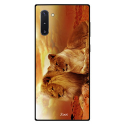 Zoot Samsung Note 10 Mobile Phone Back Cover, King Queen Of Jungle