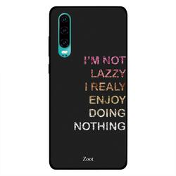 Moreau Laurent Huawei P30 Mobile Phone Back Cover, Keep Going No Matter What