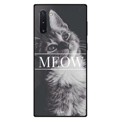 Zoot Samsung Note 10 Mobile Phone Back Cover, Meow Cat