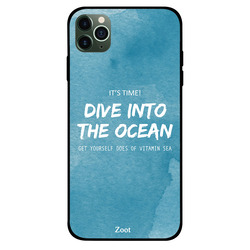 Zoot Apple iPhone 11 Pro Max Mobile Phone Back Cover, Dive Into The Ocean