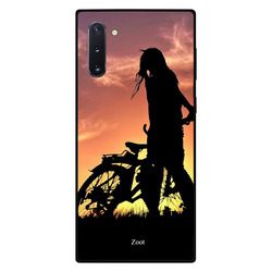 Zoot Samsung Note 10 Mobile Phone Back Cover, Bicycle Rider