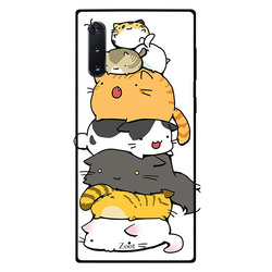 Zoot Samsung Note 10 Mobile Phone Back Cover, Cats Bunch