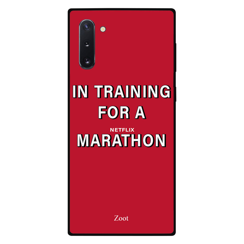 Zoot Samsung Note 10 Mobile Phone Back Cover, In Training For A Netflix Marathon