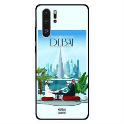 Moreau Laurent Huawei P30 Pro Mobile Phone Back Cover, Modern Paradise Dubai