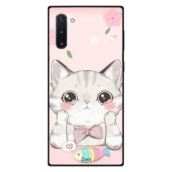 Zoot Samsung Note 10 Mobile Phone Back Cover, Cat Fish