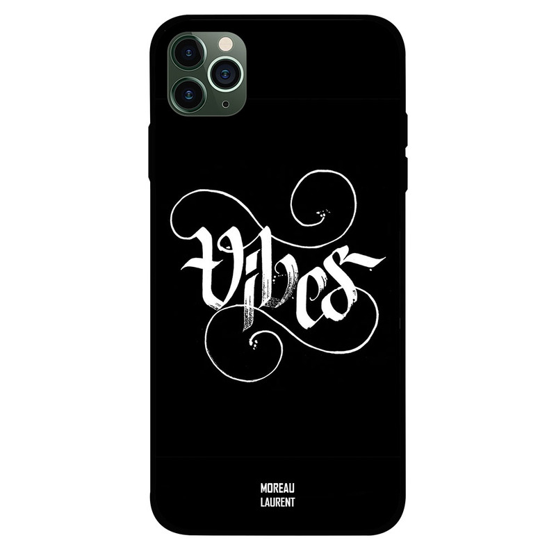Moreau Laurent Apple iPhone 11 Pro Mobile Phone Back Cover, Vibes