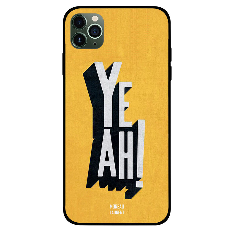 Moreau Laurent Apple iPhone 11 Pro Mobile Phone Back Cover, Yeah
