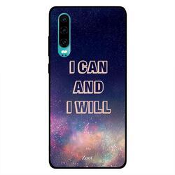 Moreau Laurent Huawei P30 Mobile Phone Back Cover, Love Black