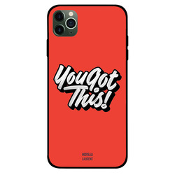 Moreau Laurent Apple iPhone 11 Pro Mobile Phone Back Cover, You Got This!