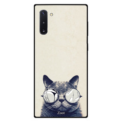 Zoot Samsung Note 10 Mobile Phone Back Cover, Stylish Cat