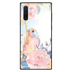 Zoot Samsung Note 10 Mobile Phone Back Cover, Love Parrot