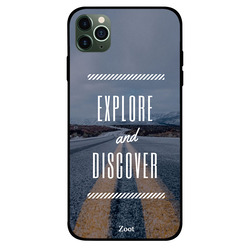 Zoot Apple iPhone 11 Pro Max Mobile Phone Back Cover, Explore And Discover